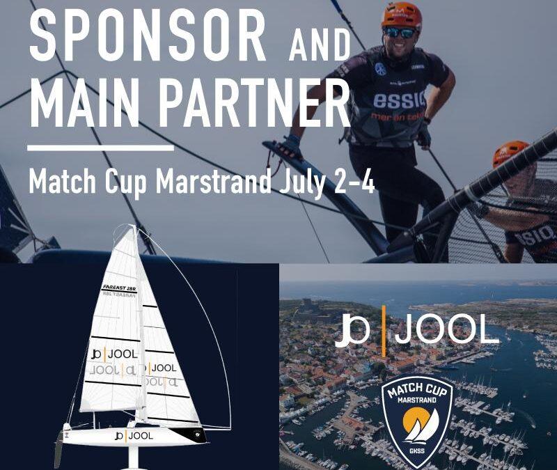 JOOL – Sponsor and main partner – GKSS Match Cup Marstrand 2020